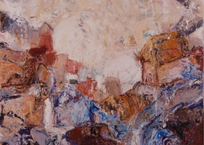 Aftermath, Oil on Canvas, 2007, Collection of J. Stanley, TO, ON