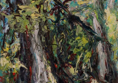 Fertile Ground, Oil on Board, Sold at Auction, Macdonald Stewart Art Gallery, Guelph, ON.
