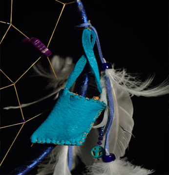 Handmade Medicine Bag Shown Above