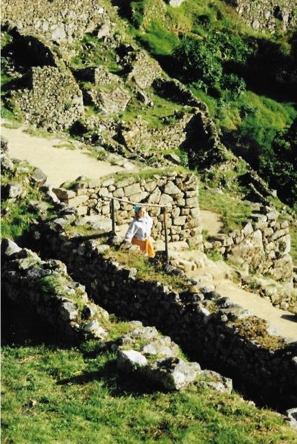 Exploring Machu Pichu