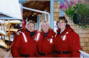 Dolores, Pat & Janet, Whale-watching tour